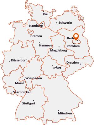 Wo liegt Berlin-Halensee