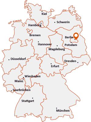 Wo liegt Berlin-Karlshorst