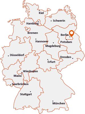 Wo liegt Berlin-Mahlsdorf