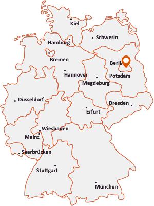 Wo liegt Berlin-Tempelhof