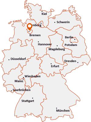 Wo liegt Bremen-Schwachhausen