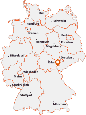 Wo liegt Rosenbach (Vogtland)