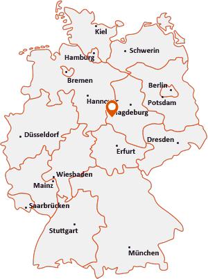 Wo liegt Oberharz am Brocken