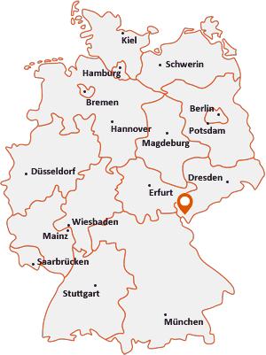 Wo liegt Adorf (Vogtland)