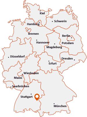 Wo liegt Altheim bei Ehingen (Donau)
