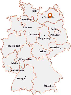 Wo liegt Alt Schwerin