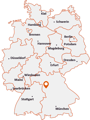 Wo liegt Ansbach