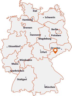 Wo liegt Auerbach (Erzgebirge)