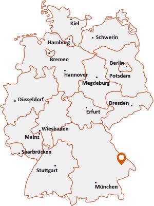 Wo liegt Auerbach (Landkreis Deggendorf)