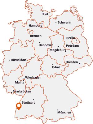 Wo liegt Bahlingen am Kaiserstuhl