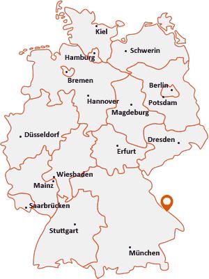 Wo liegt Bayerisch Eisenstein