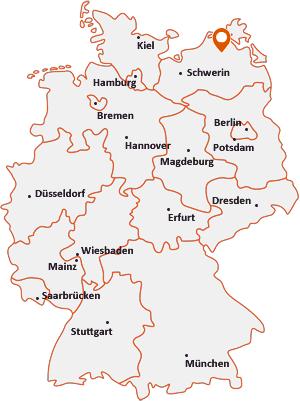 Wo liegt Behren-Lübchin
