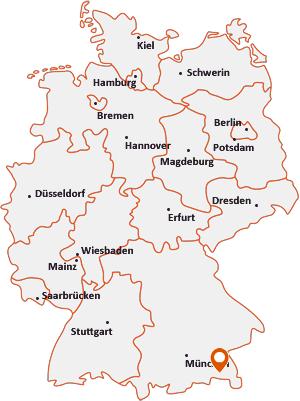Wo liegt Bergen (Chiemgau)