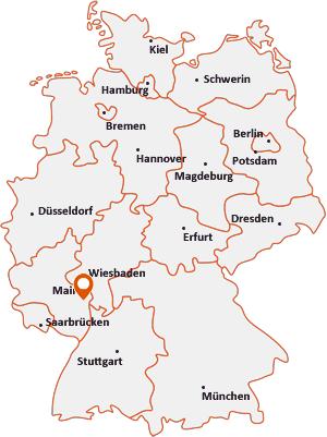 Wo liegt Bermersheim bei Worms