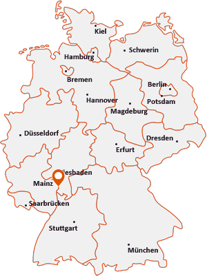 Wo liegt Biebesheim am Rhein