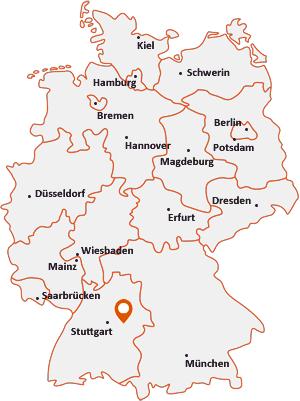 Wo liegt Birenbach (Kreis Göppingen)