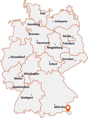Wo liegt Bischofswiesen
