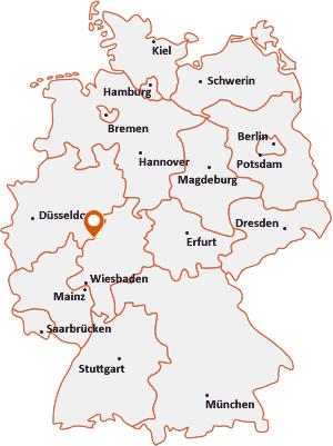 Wo liegt Breidenbach