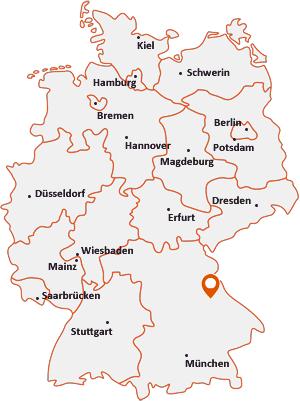 Wo liegt Bruck in der Oberpfalz