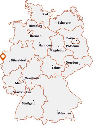 Wo liegt Brüggen (Niederrhein)