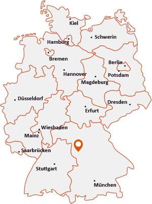 Wo liegt Burgoberbach
