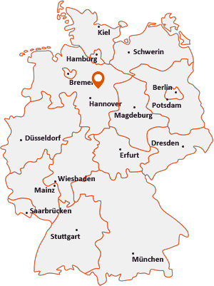 Orte mit Ce auf der Deutschlandkarte