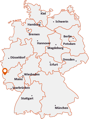 Wo liegt Dackscheid bei Waxweiler