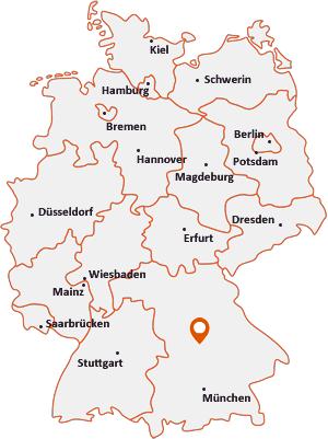 Wo liegt Denkendorf (Oberbayern)