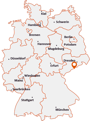 Wo liegt Deutschneudorf