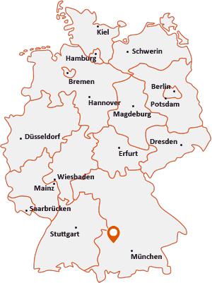 Wo liegt Diedorf (Bayern)