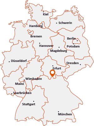 Wo liegt Dörfles-Esbach