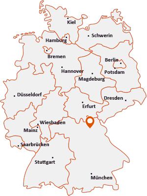 Wo liegt Eckersdorf