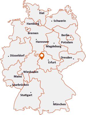 Wo liegt Eisenach