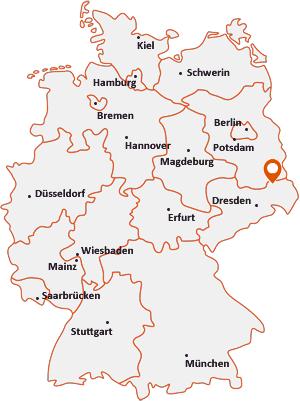 Wo liegt Elsterheide