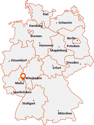 Wo liegt Eltville am Rhein