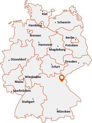Wo liegt Erbendorf