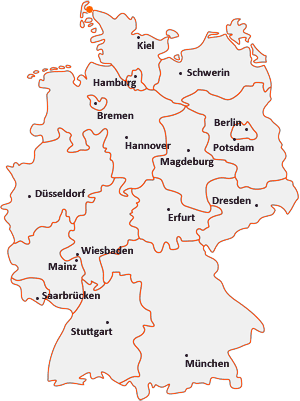 Wo liegt Friedrich-Wilhelm-Lübke-Koog