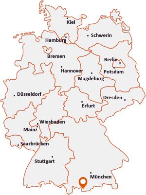 Wo liegt Garmisch-Partenkirchen