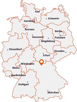 Wo liegt Gerach (Oberfranken)
