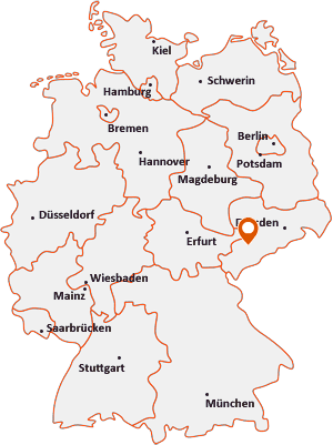 Wo liegt Gersdorf