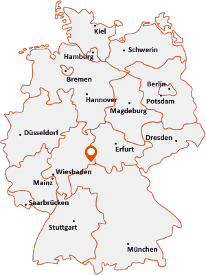 Wo liegt Gersfeld (Rhön)