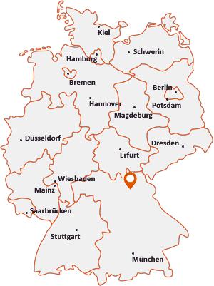 Wo liegt Glashütten (Oberfranken)