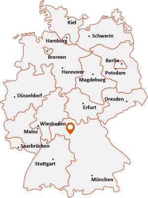 Wo liegt Großlangheim