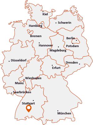 Wo liegt Gunningen