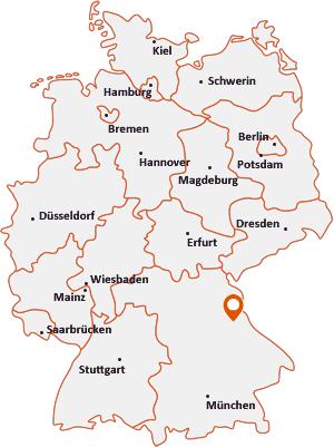 Wo liegt Guteneck