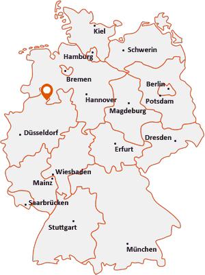 Wo liegt Hagen am Teutoburger Wald