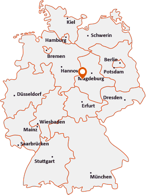 Wo liegt Halberstadt