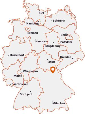 Wo liegt Harsdorf