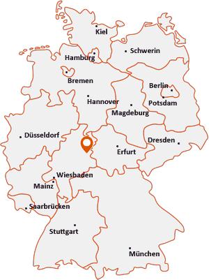 Wo liegt Haunetal