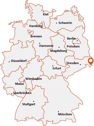 Wo liegt Herrnhut